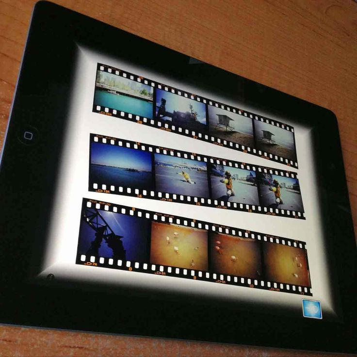 Use your iPad as a Lightbox Negative Viewer · Lomography ...