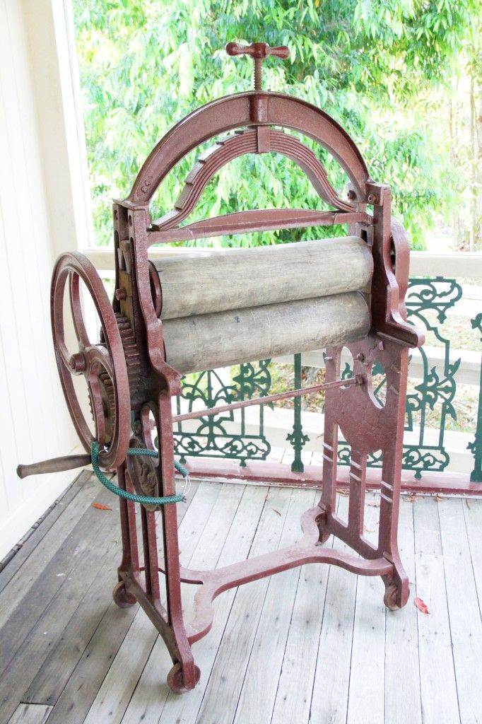 Mangle at Caboolture Historical Village