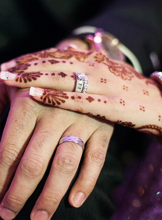 Mehndi Tattoo Real : Real weddings henna tattoos wedding photos events