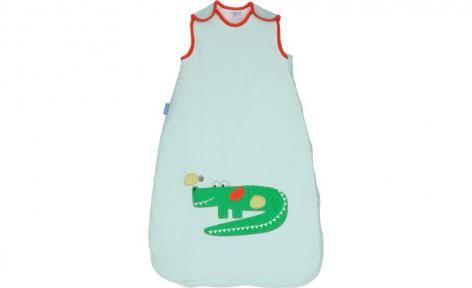 Crocodile 1.0 Tog Sleeping Bag by Grobag