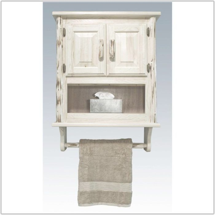Bathroom Wall Mounted Cabinet With Towel Bar Cabinet Home