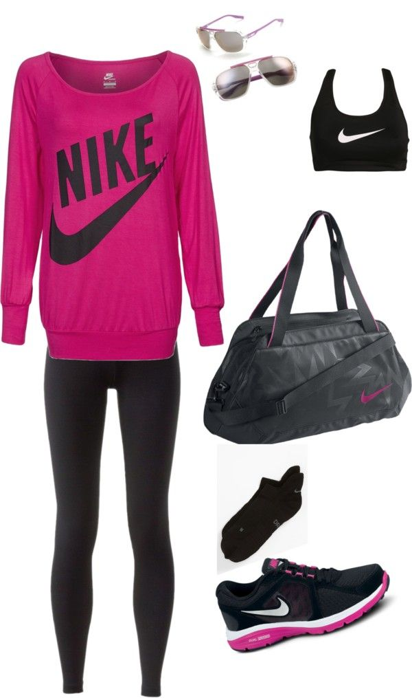 """""""nike fit"""" by sgran on Polyvore"""
