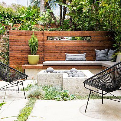 Diy Cinder Block Bench Backyards