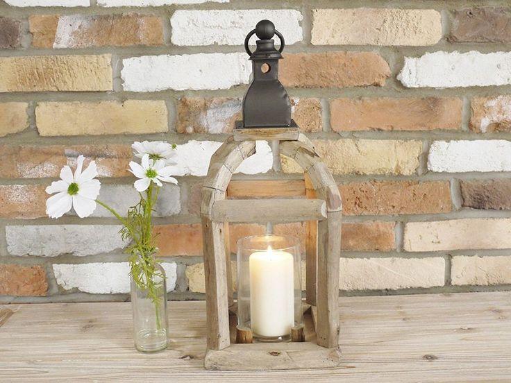 New Vintage Glass Garden Hurricane Large Lamp Lantern Pillar Candle Holder 50cm. in Home & Garden, Home Décor, Other Home Décor | eBay!