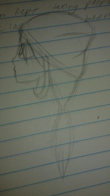 I was taking notes in history and i guess i got carried away and drew this..