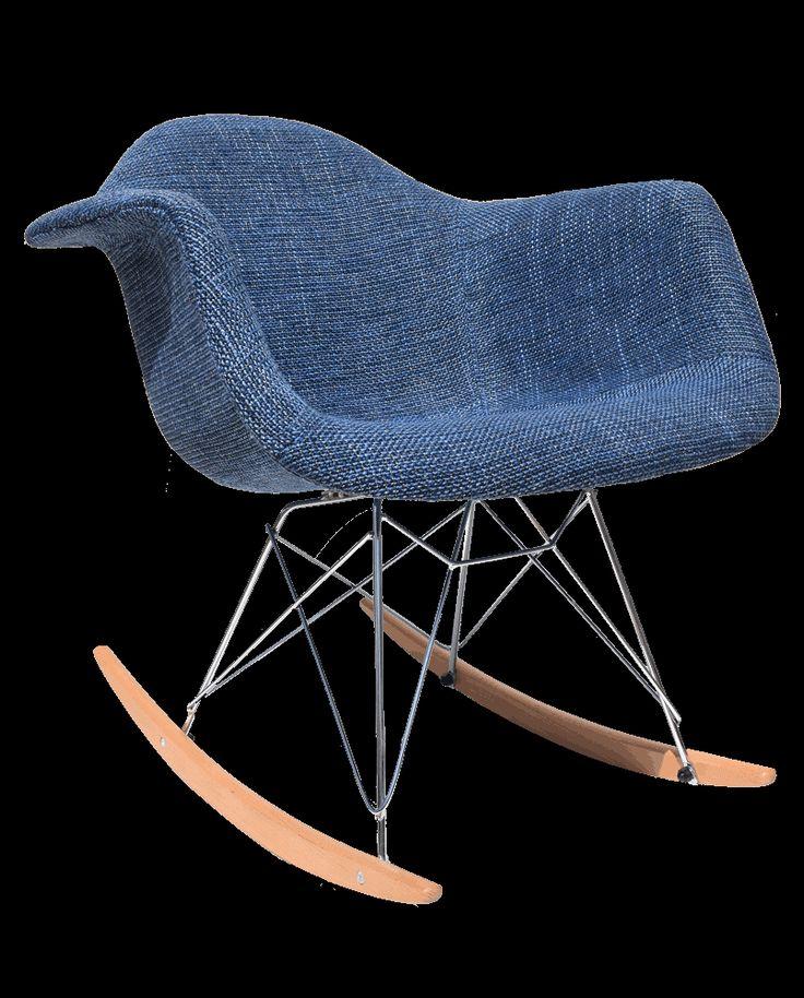 כסא נדנדה - קופנהגן כחול