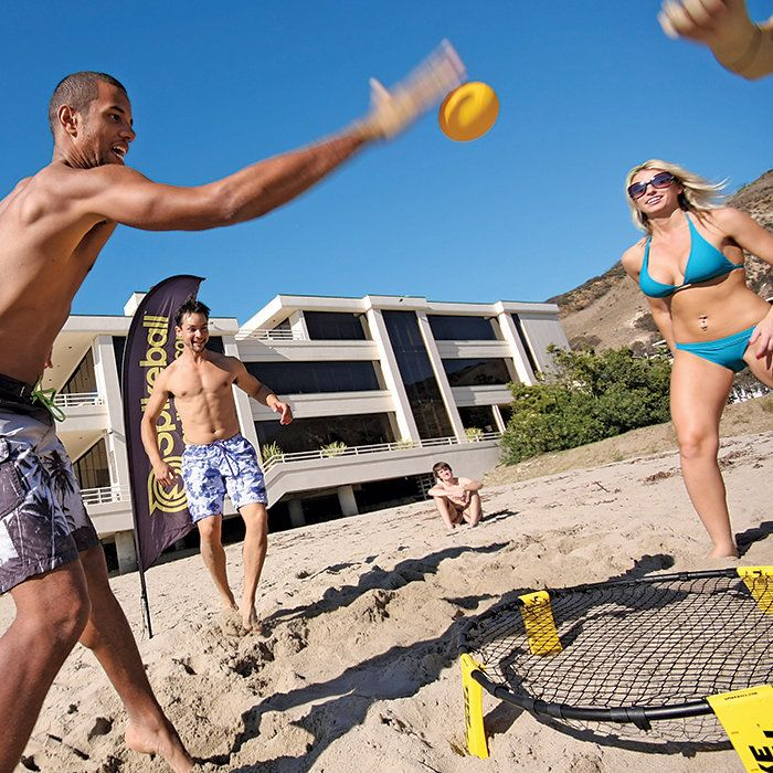 SPIKEBALL Game Set – Featured on Shark Tank TV Show ABC ! Beach volleyball meets playground four square. Buy SPIKEBALL now at BROOKSTONE.com! $59.99 In Stock – Online Only , THE SMART BUDGET…