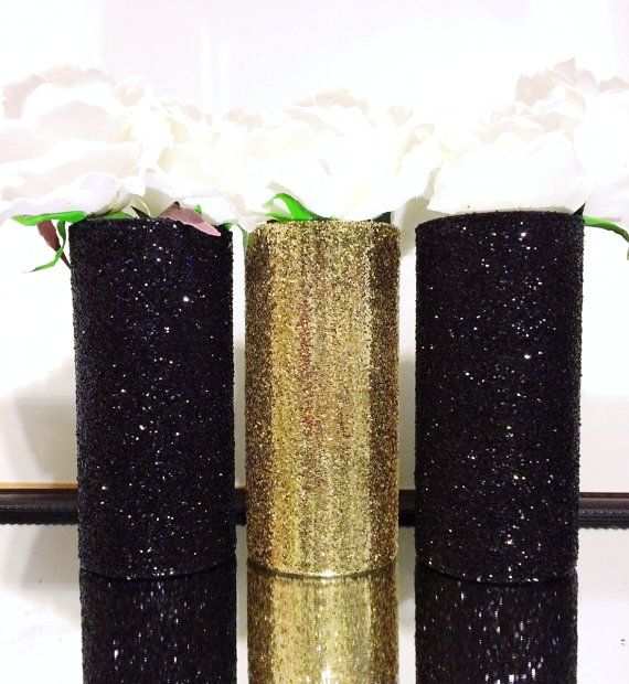 Best ideas about gold vases on pinterest painted
