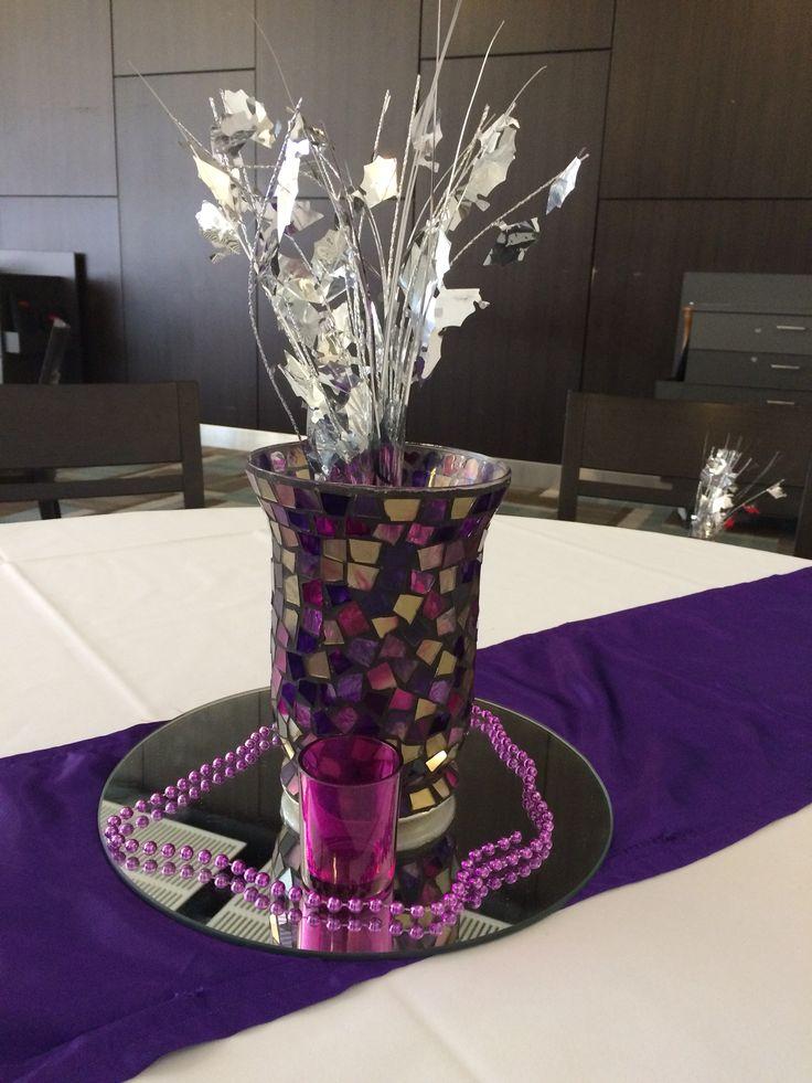 martini cocktails decoration purple 2