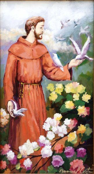 São Francisco, 2011 Manoel Costa (Brasil, 1943) óleo sobre madeira, 61 x 35 cm
