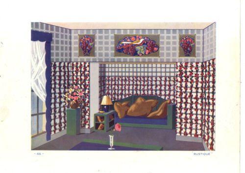 Gravure ancienne modele papier peint decoration rustique for Modele maison kara