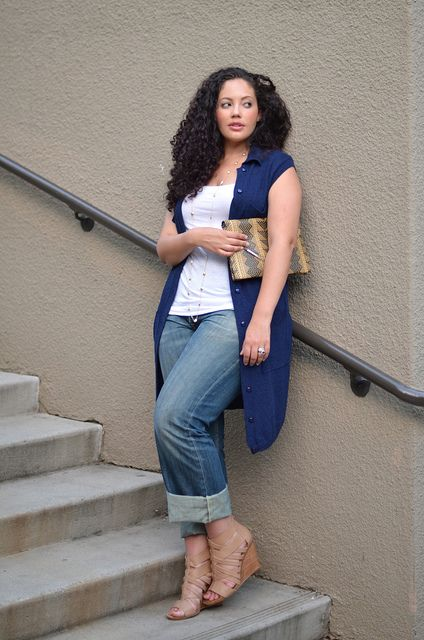 Casual Cool: Girl with Curves                                                                                                                                                                                 More