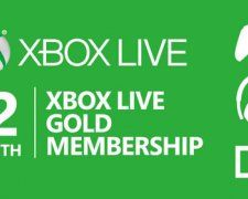 Win 12 Month Xbox Live Gold Membership