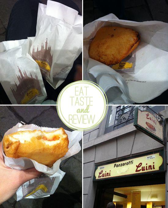 I Panzerotti di Luini a Milano.. tried these a few days ago! they're amazing <3