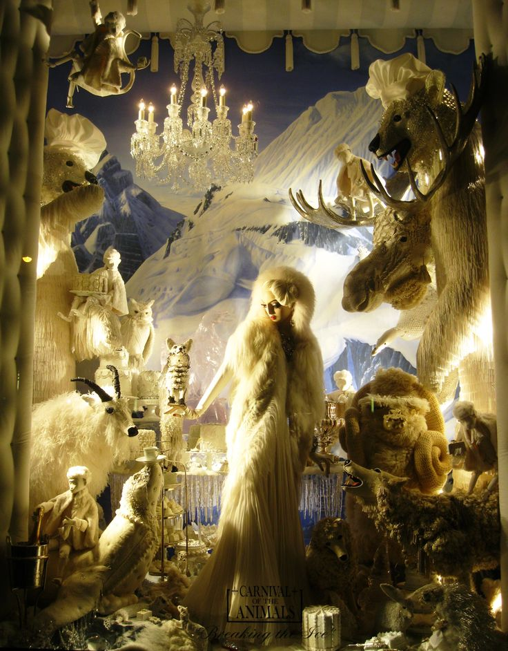 christmas windows | Christmas in New York: Bergdorf Goodman windows