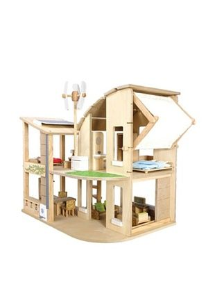 38% OFF PlanToys The Green Dollhouse with Furniture