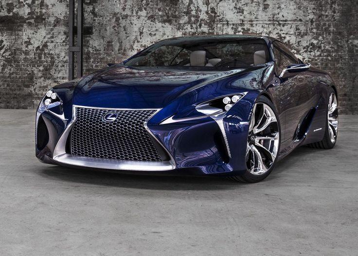 Lexus LF-CC Concept Blue 2012