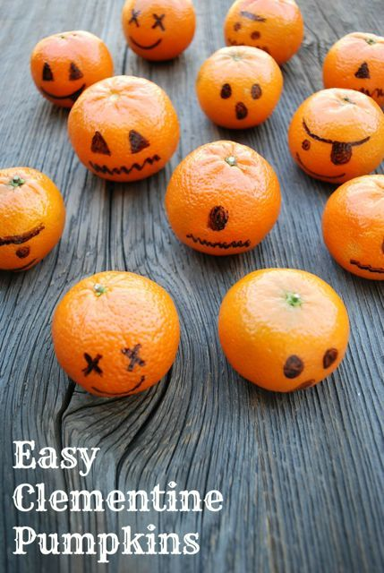 8 healthy treats for classroom halloween parties - Halloween Healthy Food