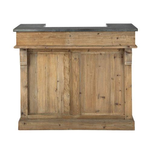 Barmöbel aus Recyclingholz, B 120cm