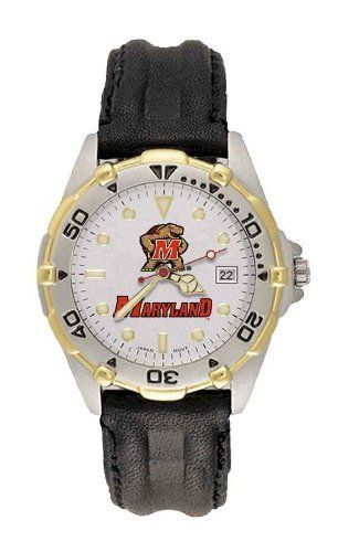 University Of Maryland Terrapins Allstar Leather Men's Watch by Game Time. $79.95