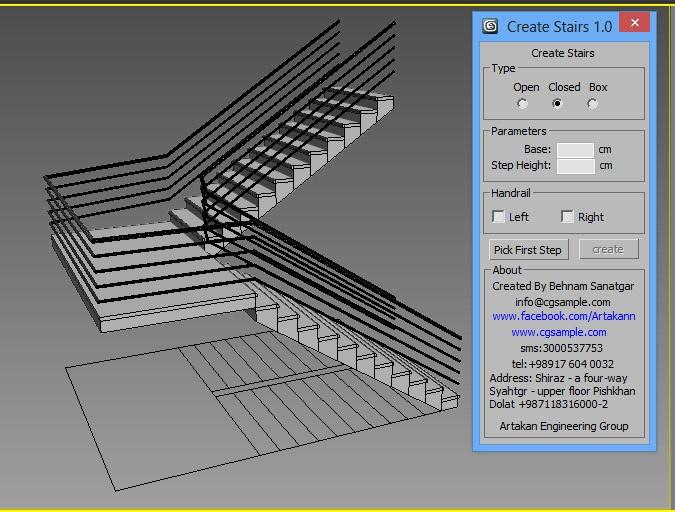 create stairs   ScriptSpot