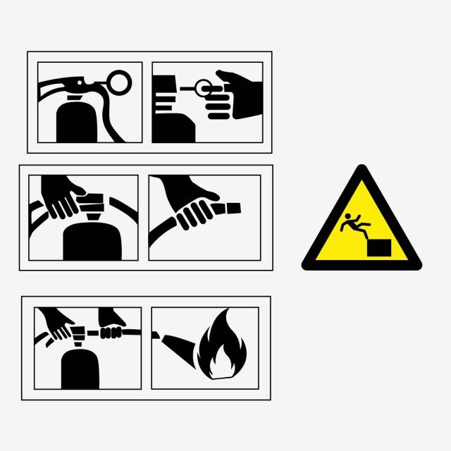 Yellow Warning Signs And Fire Truck Usage Signs Yellow Signs Truck Png And Vector With Transparent Background For Free Download Geometric Pattern Background Background Banner Free Vector Graphics
