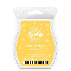 Scentsy - Coconut Lemongrass: Lemongrass Scentsy, Perfect Scented, Skinny Dippin, Coconut Lemongrass, White Sands, Scentsy Bar, Favorite Scentsy, Scentsy Fragrance, Favorite Scented