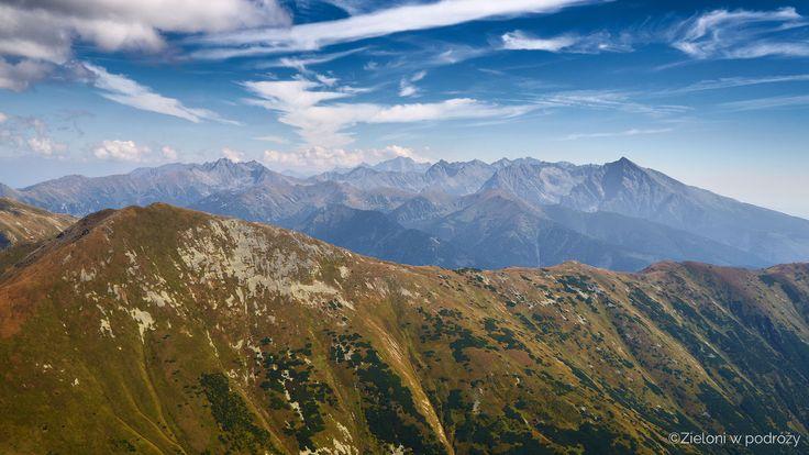 Bystra - najwyższa góra Tatr Zachodnich - Zieloni w podróży