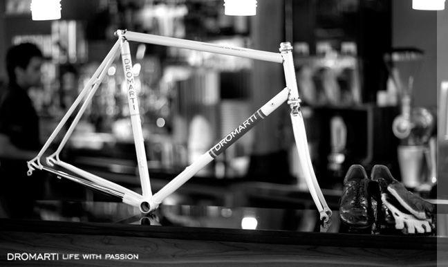 Traditional Italian Steel bike frames from Dromarti