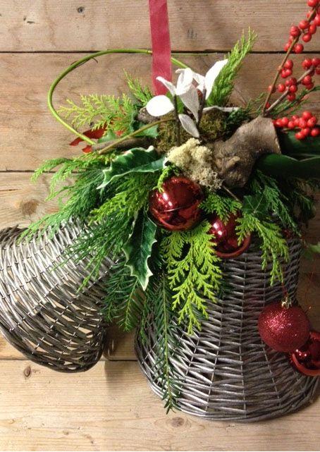 kerstklokken - kerst workshops bloemsierkunst christa snoek gewoon leuk omdat ik die klokken ook heb