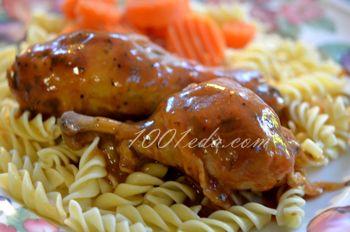 Курица в соусе барбекю в медленноварке