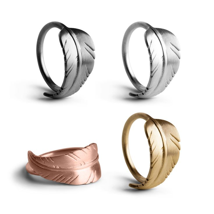 Get our leaf rings in your preferred color >> http://www.janekoenig.com/rings.html