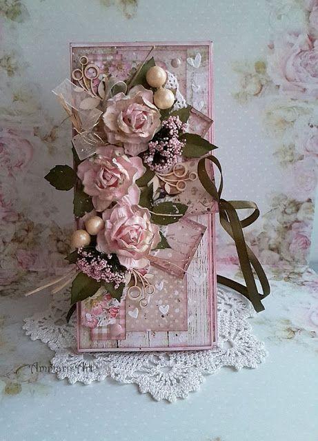 Ammaris Art, Card with flowers
