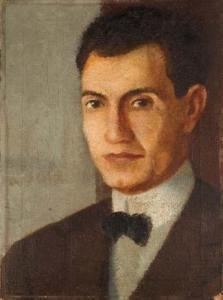 Antonio Donghi - Ritratto Di Settimio Radicchi, 1922