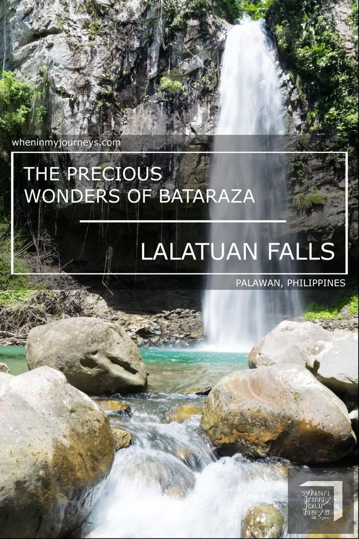 Bataraza, Palawan Philippines - Tucked into the forests of Barangay Malihud in Bataraza, the southernmost municipality of mainland Palawan are two of its precious wonders, Kapangyan Falls and Lalatuan Falls. However, there were very little information about Kapangyan Falls and Lalatuan Falls online.  That's why finding an article about the hidden gems of Bataraza was a huge step forward in making my DIY solo side trip to Bataraza possible.