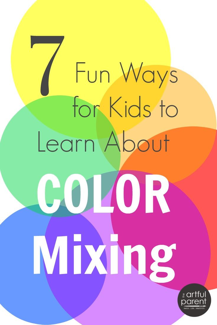 121 best Color Mixing images on Pinterest | Preschool, Colors and ...