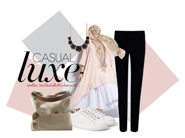"""""""casual hijab"""" by moetho-barbhatully on Polyvore featuring Joseph, MANGO, Charlotte Russe and Independent Reign"""