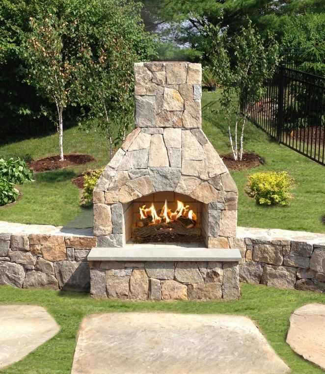 The 25+ best Outdoor fireplace kits ideas on Pinterest | Diy ...