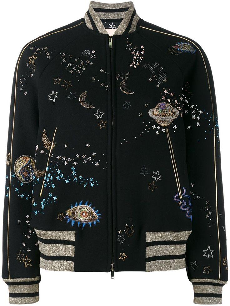 Valentino куртка-бомбер 'Astro Couture'