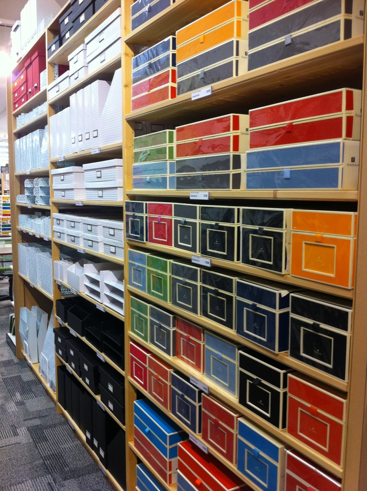 Home Office Organization Via The Container Store