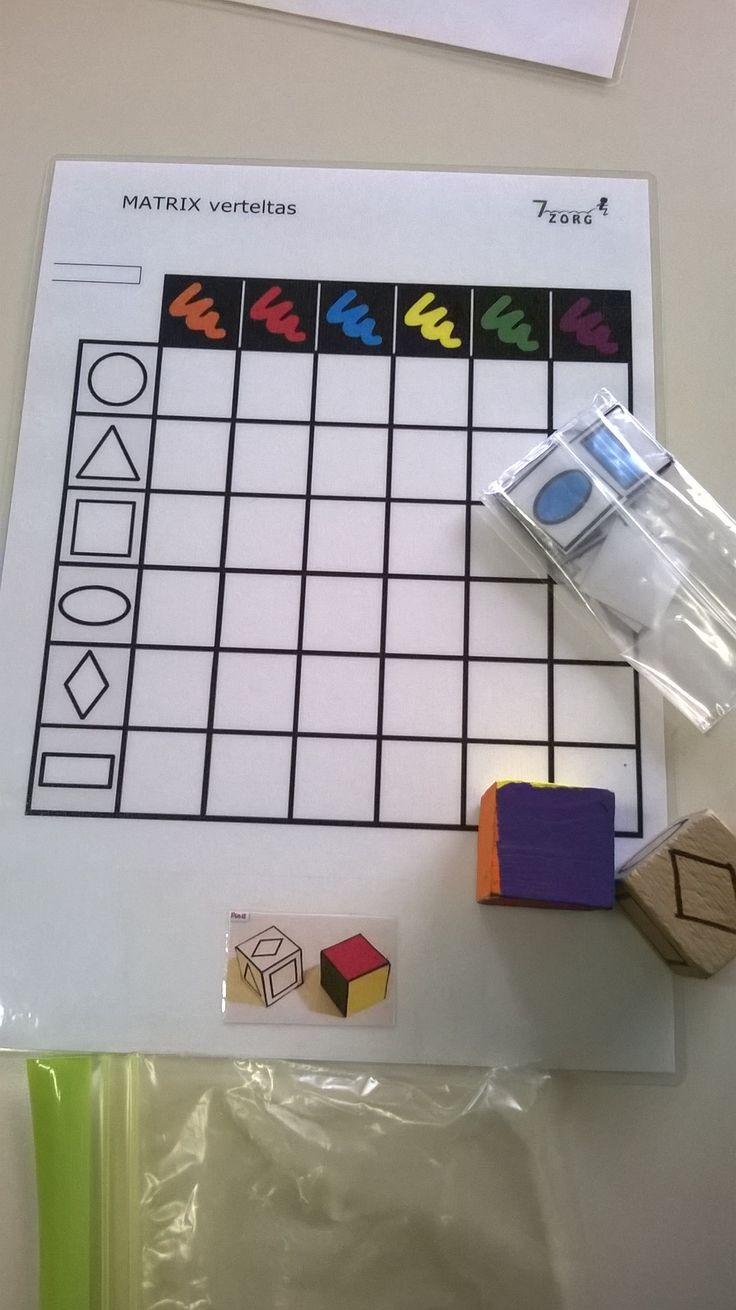 matrix kleuren en vormen 7-Sprong Kemzeke L4 voor K3