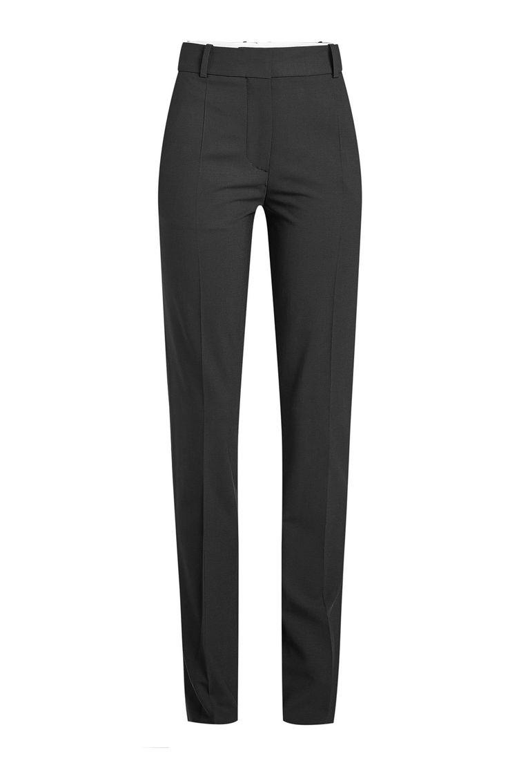 Virgin Wool Pants - Victoria Beckham | WOMEN | US STYLEBOP.COM