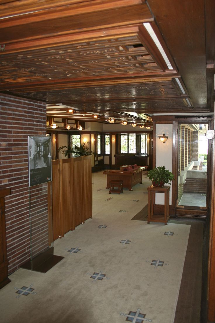1000 Images About Fllw Robie House On Pinterest