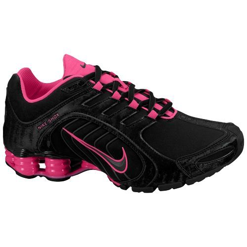Nike Shox Deliver Womens Black Hot Pink