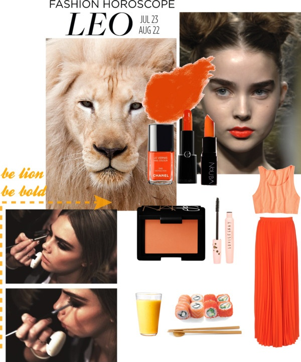 """LEO: be lion"" by brendazhuo on Polyvore"