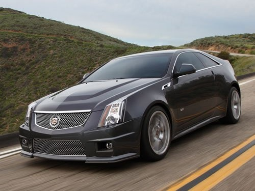 2012 Cadillac CTS-V Series - 0 to 60 in less than 4 seconds