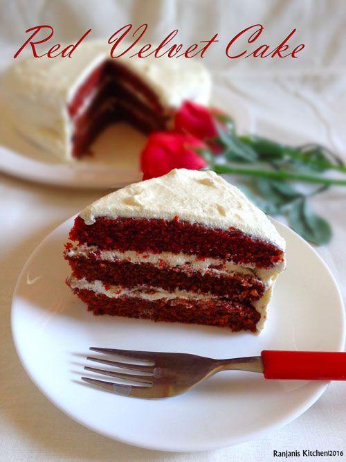 Eggless Lychee Cake Recipe