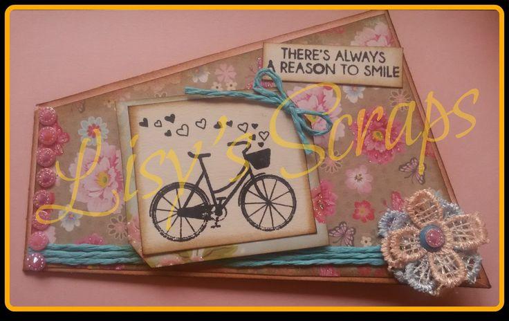 Lisy's Scraps: SWAP TWISTED CARD- card creata e spedita da me