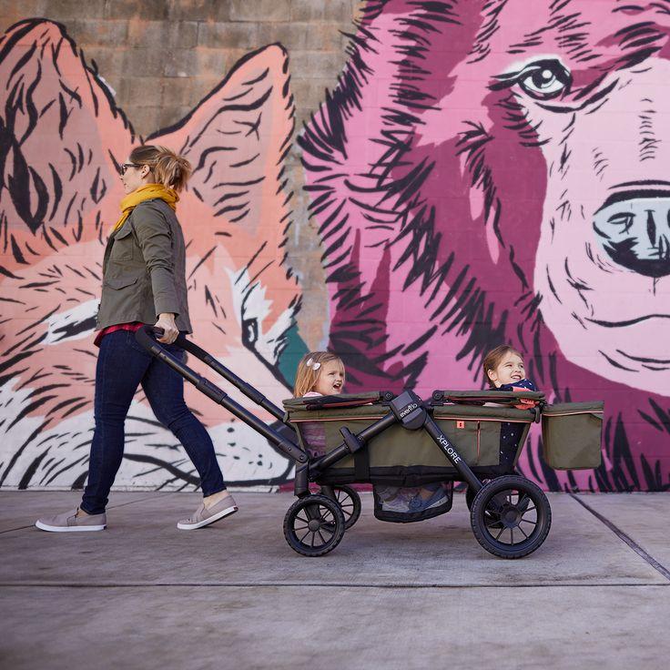 Coming Soon! The Pivot Xplore All-Terrain Stroller Wagon ...