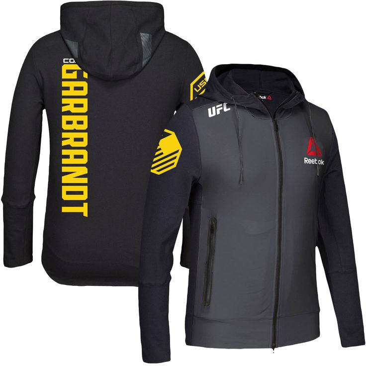 Cody Garbrandt Reebok UFC 207 Champion Walkout Hoodie - Black - $103.99